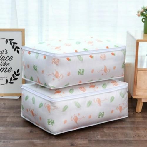 Foto Produk Kantong Penyimpanan Selimut Bed Cover Anti Debu Storage Bag Dust Cover - Flaminggo dari Home Diaries