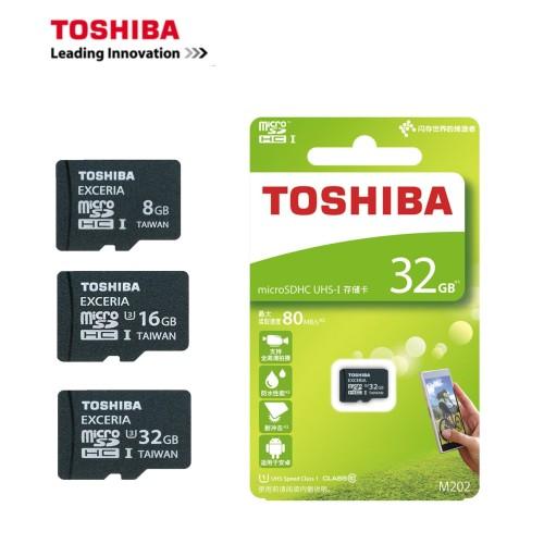 Foto Produk Memori Micro SD Toshiba 4 GB MicroSD Card 4gb Clash-10 UHS-1 80 mbps dari internal com