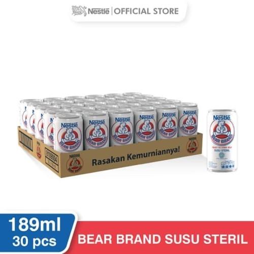 Foto Produk Susu Beruang Bear Brand 189gr 1 Dus isi 30pcs - 1 DUS 30PCS dari PT GSM