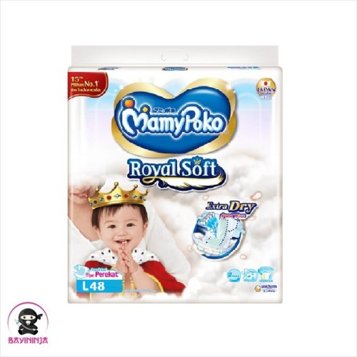 Foto Produk MAMYPOKO Extra Dry Extra Soft Popok Perekat L48 / L 48 dari BAYININJA