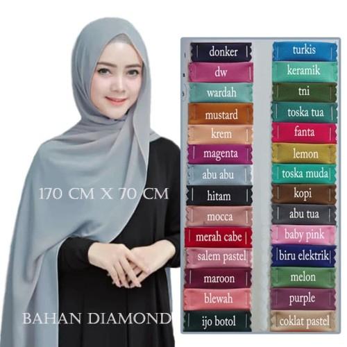 Foto Produk Jilbab Hijab Pashmina Sabyan Bahan Diamond - MIX dari NawAhmad's Lapak