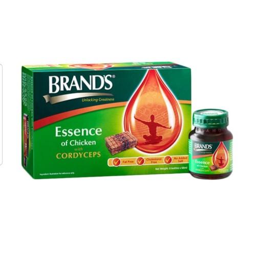 Foto Produk Brands Essence Of Chicken With Cordyceps Suplemen 70Gram/ 6 Pcs dari the baby boss shop