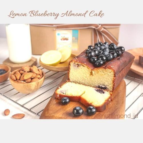 Foto Produk Gluten free lemon blueberry almond cake dari Nutalmond_idTangerang