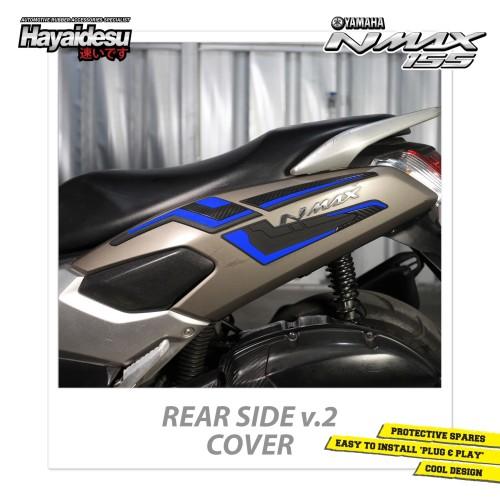 Foto Produk Hayaidesu NMAX Rear Side Body Protector Cover - Biru dari Hayaidesu Indonesia