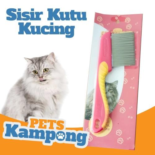 Foto Produk Sisir Kutu Kucing Cat Flea Comb - Hijau dari Pets Kampong