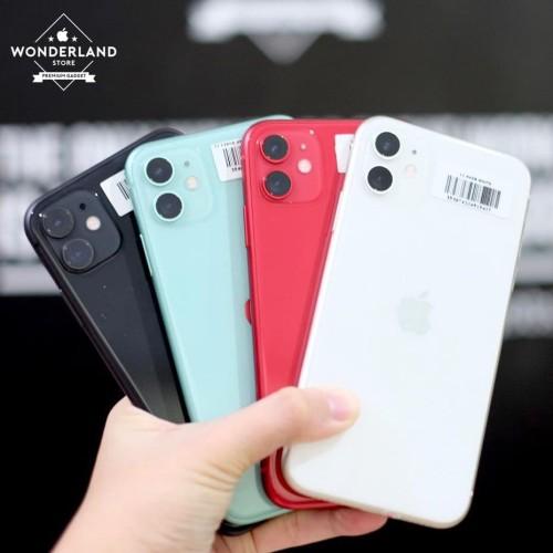 Foto Produk Second iPhone 11 64GB, Fullset Original, Gransi Apple, Mulus Like New dari Wonderland Store