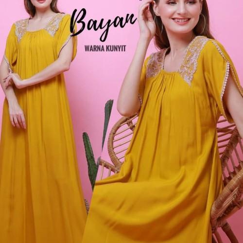 Foto Produk daster arab/india/dubai/turki fairuz bayan dress busui adem dari murmershops & fashion