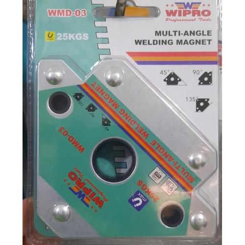 Foto Produk WIPRO 3 Inch Siku Magnet Las Heavy Duty dari Untung Teknik