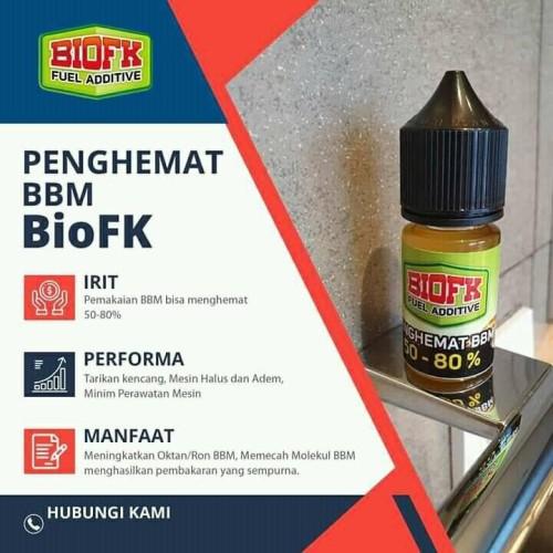 Foto Produk BIO FK Penghemat BBM Bensin, Solar, Pertamax, Pertalite,dll BioFK 15ml dari Istiqomah-Store