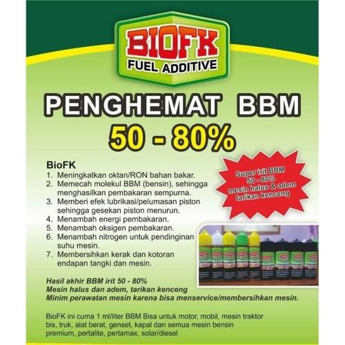 Foto Produk BIO FK Service Tanpa Bongkar Mesin Cukup Tetesi Tangki BBM BioFK 15 ml dari Istiqomah-Store