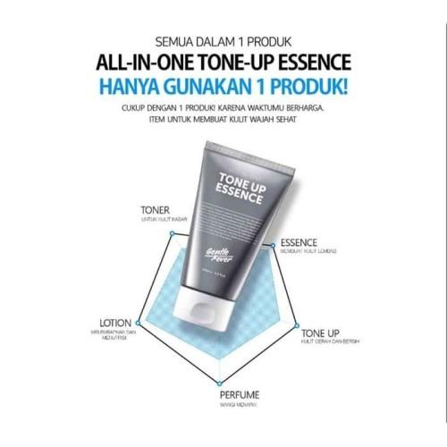 Foto Produk Gentle Fever Tone Up Essence Perawatan Wajah Pria Whitening Memutihkan dari JS Store Indonesia