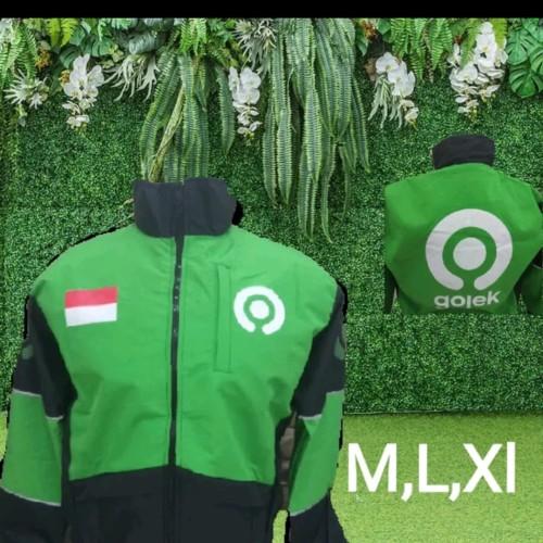 Foto Produk jaket gojek ori - Hijau muda, XL dari NaurShop