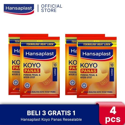 Foto Produk BELI 3 GRATIS 1 Hansaplast Koyo Panas Resealable 10's dari Hansaplast Official