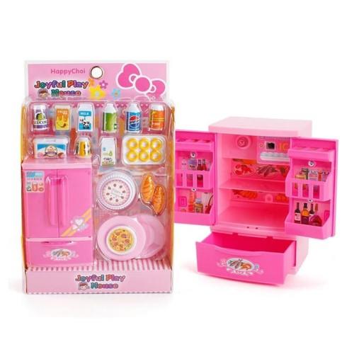 Foto Produk Mainan Anak Joyful Play House Kitchen Set Lemari Es Peralatan Dapur dari Danzel Corner