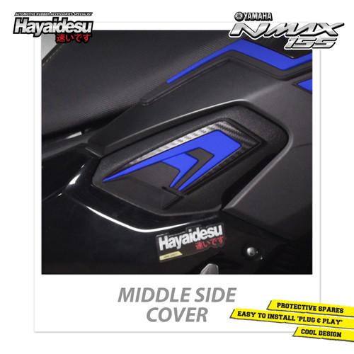 Foto Produk Hayaidesu NMAX Middle Side Body Protector Cover - Biru dari Hayaidesu Indonesia