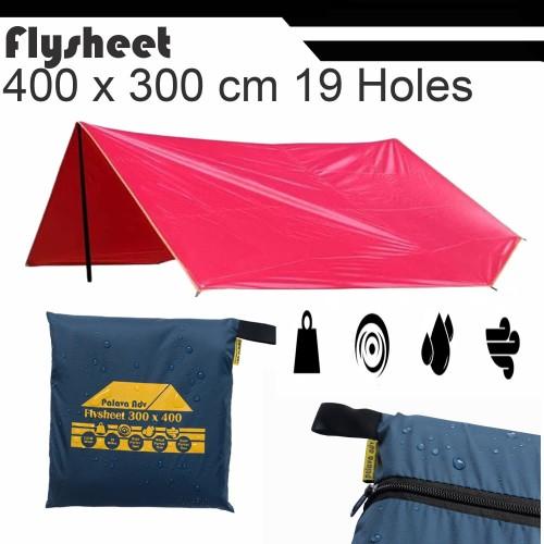 Foto Produk Flysheet Ultralight 3x4 - Orange dari grosiran-outdoor