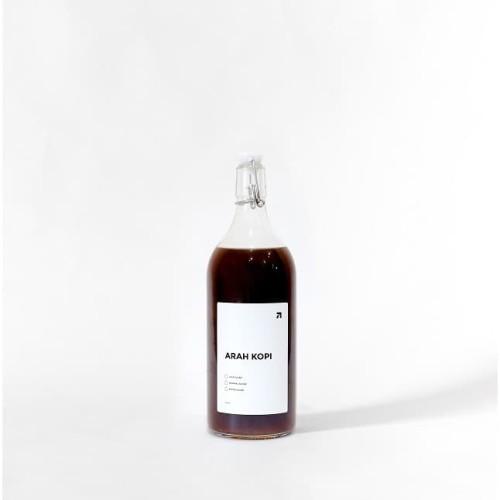 Foto Produk Kopi 1 liter/1000 ml Americano by Arah Kopi - Botol Kaca dari Arah Kopi Official