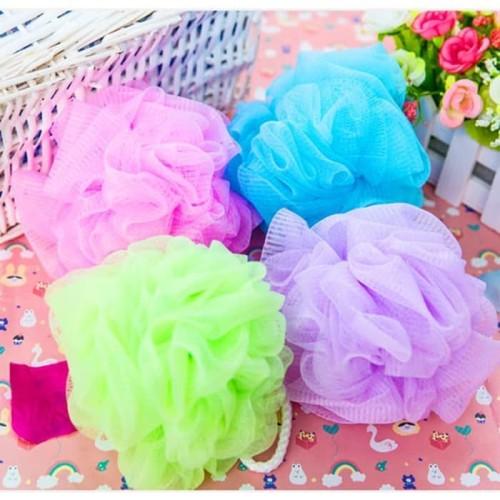 Foto Produk bath sponge Spons Mandi Mekar 15 gr/ spon Shower Puff dari cyber