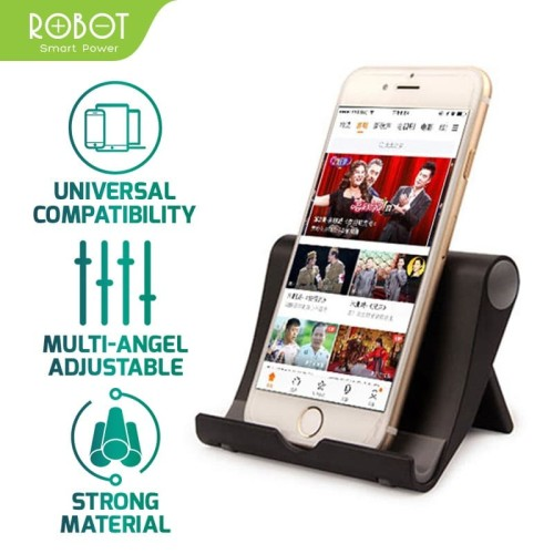Foto Produk ROBOT RT-US01 Foldable Universal Stent For iOS/Android Smartphone dari ROBOT OFFICIAL SHOP