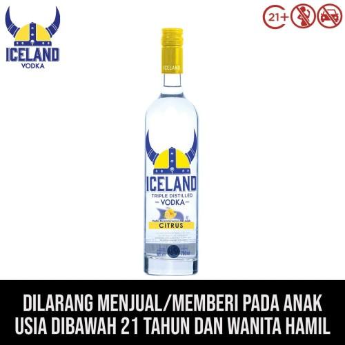 Foto Produk Iceland Vodka Citrus dari kawan minum