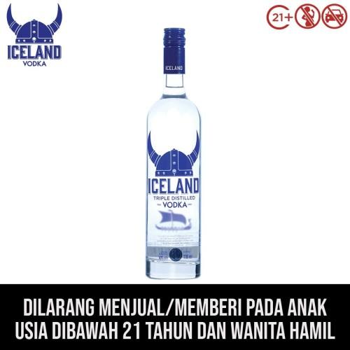 Foto Produk Iceland Vodka Original 700mL dari kawan minum