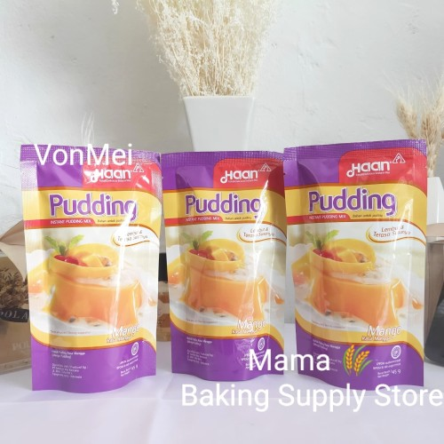 Foto Produk HAAN Puding Mangga Mango Pudding Pouch 145 gr dari VonMei