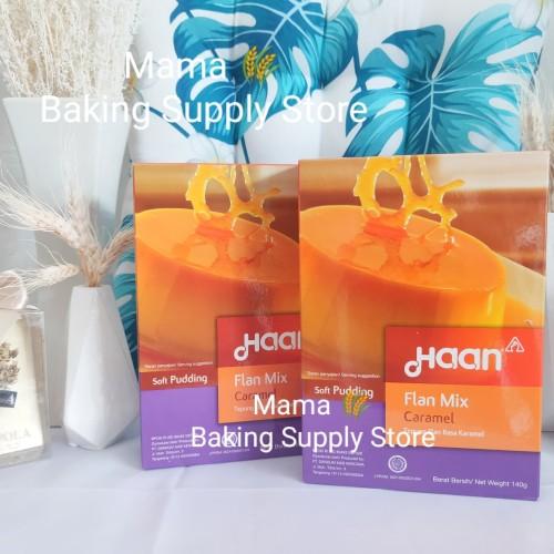 Foto Produk HAAN Flan Mix Caramel Pudding Puding Karamel Enak 145 gr dari VonMei