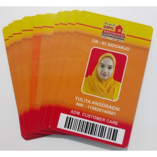 Foto Produk Cetak Kartu Karyawan murah dari Mutiara Kartu
