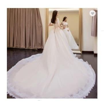 Jual Gaun Pengantin Korean Wedding Dress Korean Gaun Pernikahan Korean M Kota Tangerang Gaunwedding Com Tokopedia