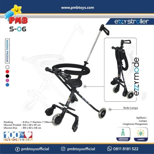 Foto Produk S-06 / Ezzy Stroller - Hitam dari Mainan Anak Dede
