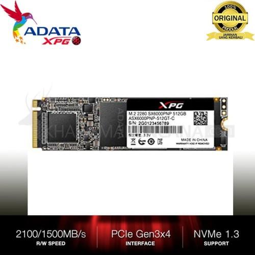 Foto Produk SSD ADATA SX6000 LITE M2 NVME 512GB dari kharismakencana