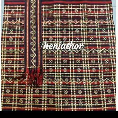 Foto Produk tapis bordir tenun 2 dari jilbab lampung