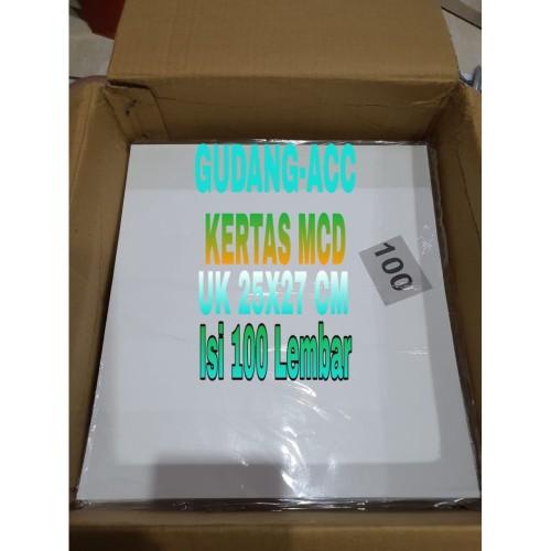 Foto Produk Kertas Nasi Kfc / Mcd / Kertas Burger / Kebab / Kertas Bungkus Nasi dari ACC DEPOK