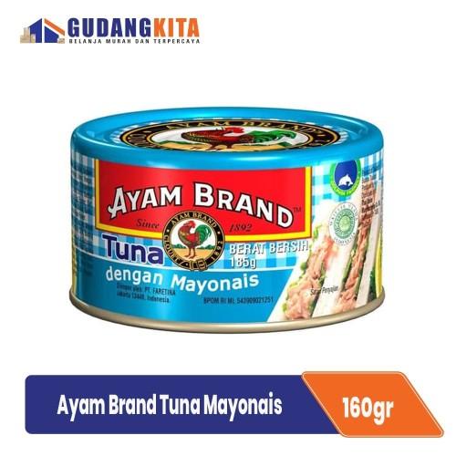 Foto Produk Ayam Brand Ikan Tuna Kaleng Mayonnaise Natural 185g dari GUDANGKITA COM