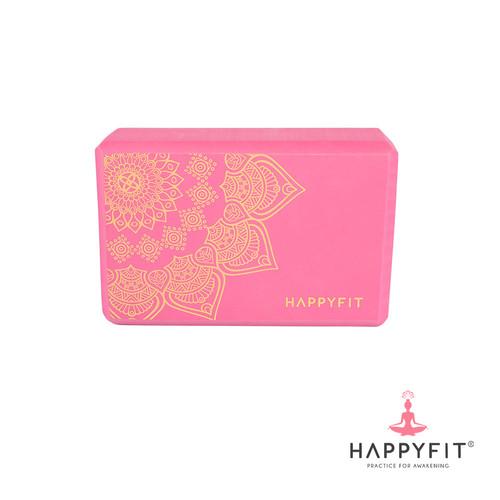 Foto Produk YOGA BRICK / YOGA BLOCK - MOTIF - Pink dari happyfit.id
