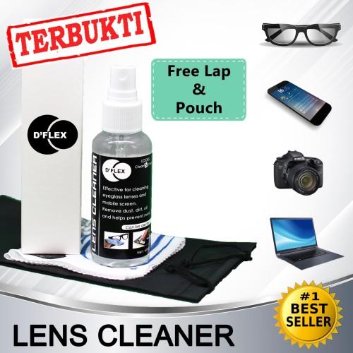 Foto Produk DFLEX D'FLEX Pembersih Kacamata kaca mata Lens Cleaner dari Loulou Store