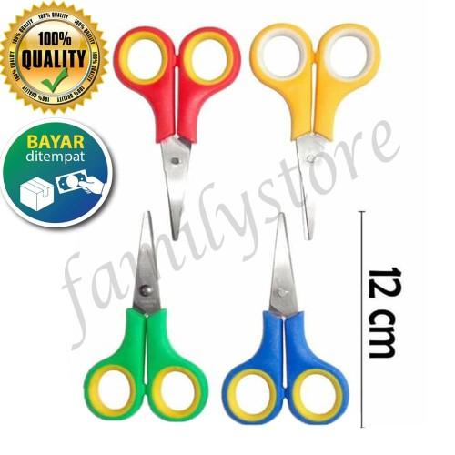 Foto Produk Gunting emigo warna / gunting kecil / gunting potong / gunting kertas dari Bunglon.id
