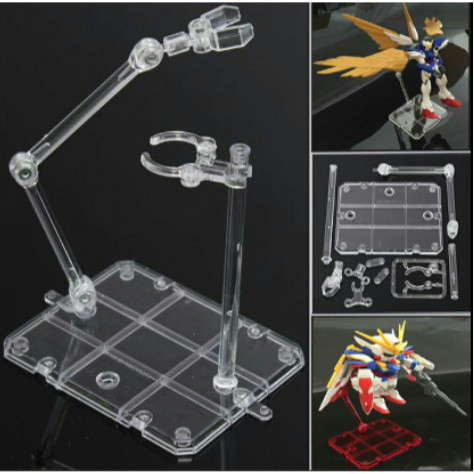 Foto Produk Display Stand Base Action Base SHF Figma Gundam HG RG 1/144 MURAH - Dua Capit dari Acc Perhiasan