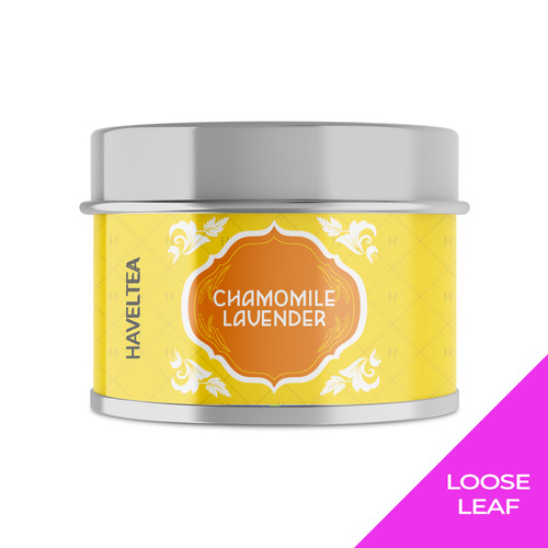 Foto Produk CHAMOMILE LAVENDER | Mini Tin | Haveltea | Floral Green Tea - Loose Leaf 15g dari Haveltea Official Store