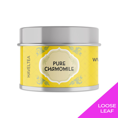 Foto Produk PURE CHAMOMILE | Mini Tin | Haveltea | Floral Tea | Sleep Anxiety Aid - Loose Leaf 7.5g dari Haveltea Official Store