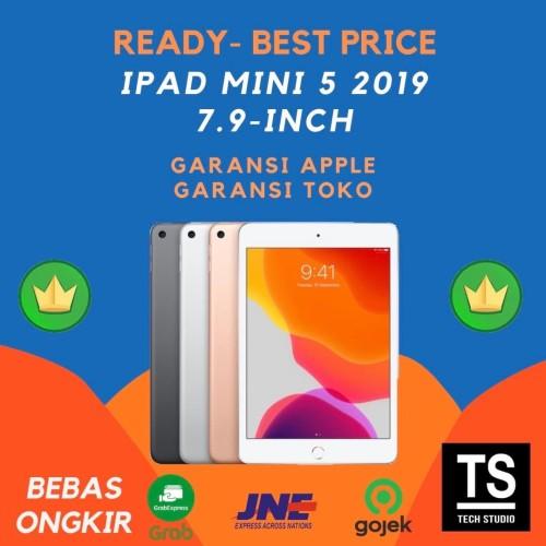 """Foto Produk iPad Mini 5 2019 WI-FI Cell 256GB 64GB 7.9"""" Wifi Grey Gold Silver - Wifi, 64GB GOLD dari Tech Studio Indonesia"""