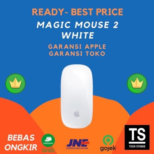 Foto Produk Apple Magic Mouse 2 Silver Original Garansi Resmi Apple 1 Tahun - GRS APPLE INTER dari Tech Studio Indonesia