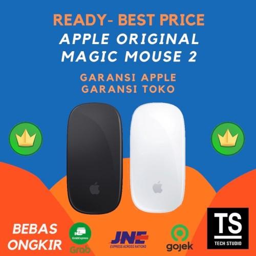 Foto Produk Apple Magic Mouse 2 Space Grey Black White Garansi Resmi 1 Tahun - GRS APPLE INTER, SILVER dari Tech Studio Indonesia