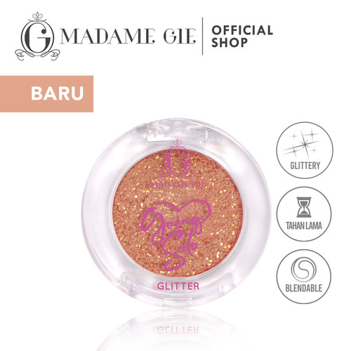 Foto Produk Madame Gie Going Solo Glittery Pressed Eyeshadow - MakeUp - Glittery 01 dari Madame Gie Official