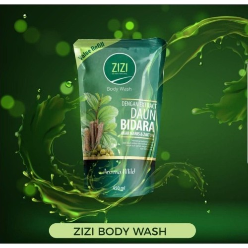 Foto Produk ZiZi Body Wash / Sabun Bidara / Ekstrak Daun Bidara / AromaMild 450 ml dari Teras Roka