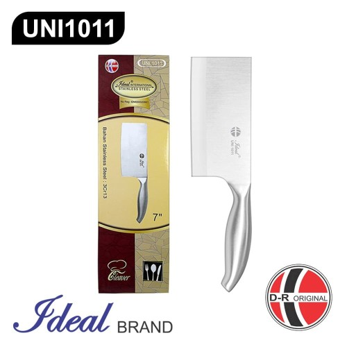 Foto Produk IDEAL UNI1011 Unibody Stainless Steel Cleaver Knife (Pisau Golok) dari IDEAL Official