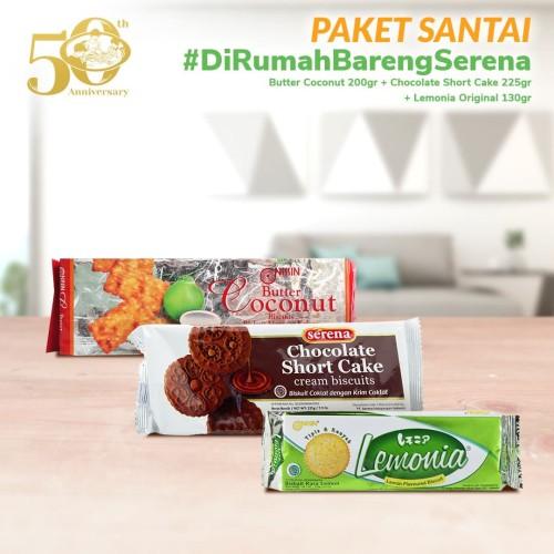 Foto Produk Promo Santai #DiRumahBarengSerena dari Khong Guan Biscuits Shop