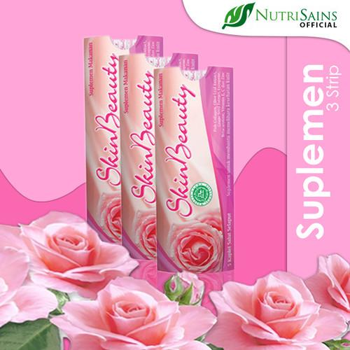 Foto Produk Skin Beauty 3 Strip 5 Kaplet dari Nutrisains Official