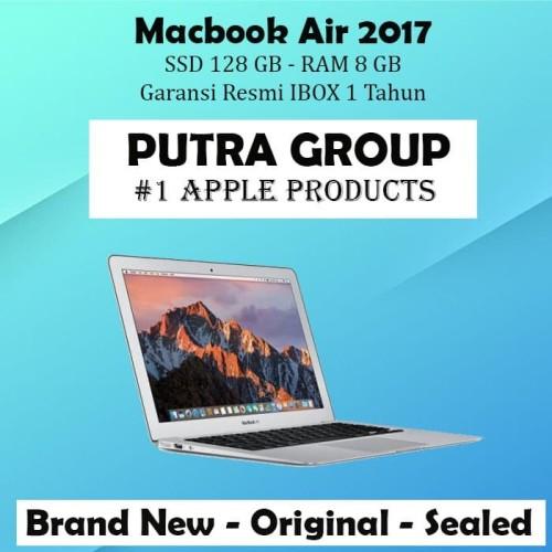 """Foto Produk (IBOX) Macbook Air 2017 MQD32 ( 13"""" inch - 128GB - 8GB ) Garansi Resmi - Silver dari Putra Group"""