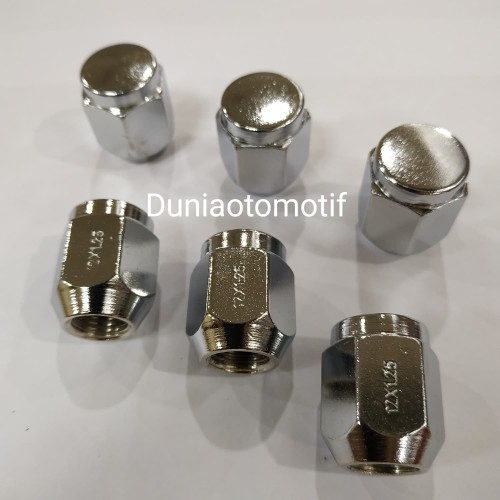 Foto Produk Mur Roda Fujita Pendek (Avanza) Kunci 19 & 21 Drat 1.5 & 1.25 Per Pcs - 21 x 1.25 dari duniaotomotif2020